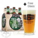 6 Bottles of Karl Strauss Tower 10 IPA + FREE Glass