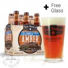 6 Bottles of Karl Strauss Columbia Street Amber + FREE Glass