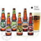 6 Bottles of Karl Strauss Mixed Pack + FREE Glass