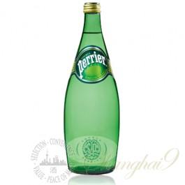 Perrier Sparkling Water (750ml x 12 Glass Bottles)