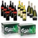 Beer & Wine Party Bundle (Carlsberg, Yellow Tail)