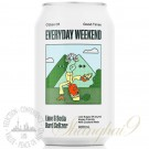 One case of Everyday Weekend Lime & Soda Hard Seltzer