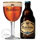 One case of Maredsous 10 Tripel + One Maredsous Glass