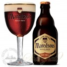 One case of Maredsous 8 Bruin (Dubbel) + One Maredsous Glass