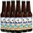 6 bottles of Side Hustle Cabana Boy Coconut Cream Blonde Ale