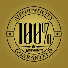 100% Authenticity Guaranteed